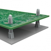 Cupped Reverse Locking Circuit Board Support - CRLCBSR/CRLCBSRE