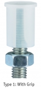 Finned Stud Caps