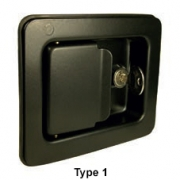 Heavy Duty Paddle Latch