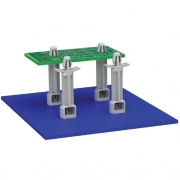 Snap Rivet Locking Circuit Board Support - SRLAHS